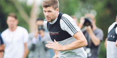 Gerrard ahora juega para Los Angeles Galaxy. Foto:facebook.com/lagalaxy