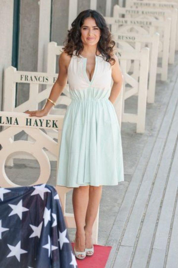 Salma Hayek es una actriz mexicana. Foto:Getty Images