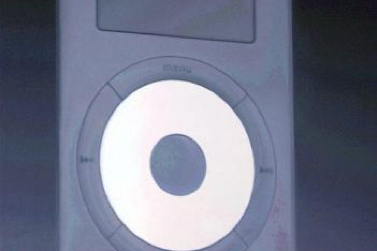 Aquí, Steve Jobs hablando del iPod en 2002 Foto:Getty Images