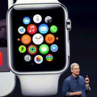En septiembre de 2014, Apple presentó su reloj inteligente llamado Apple Watch Foto:Getty Images