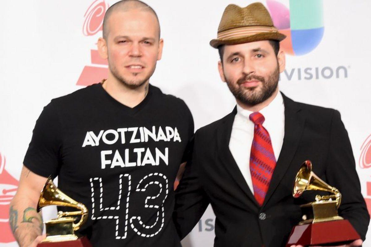 La banda también es conocida por sus letras satíricas, así como un comentario social sobre temas de cultura y política latinoamericana y actualidad mundial Foto:Getty Images