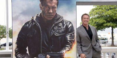 """Arnold Schwarzenegger, actor de cine y político, interpreta al """"Terminator"""", un ciborg asesino enviado a través del tiempo desde el año 2029 a 1984 para asesinar a ˝Sarah Connor"""" Foto:Getty Images"""
