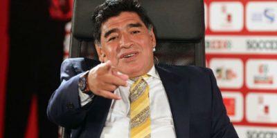 Diego Armando Maradona desmintió que esté sufriendo depresión. Foto:Getty Images