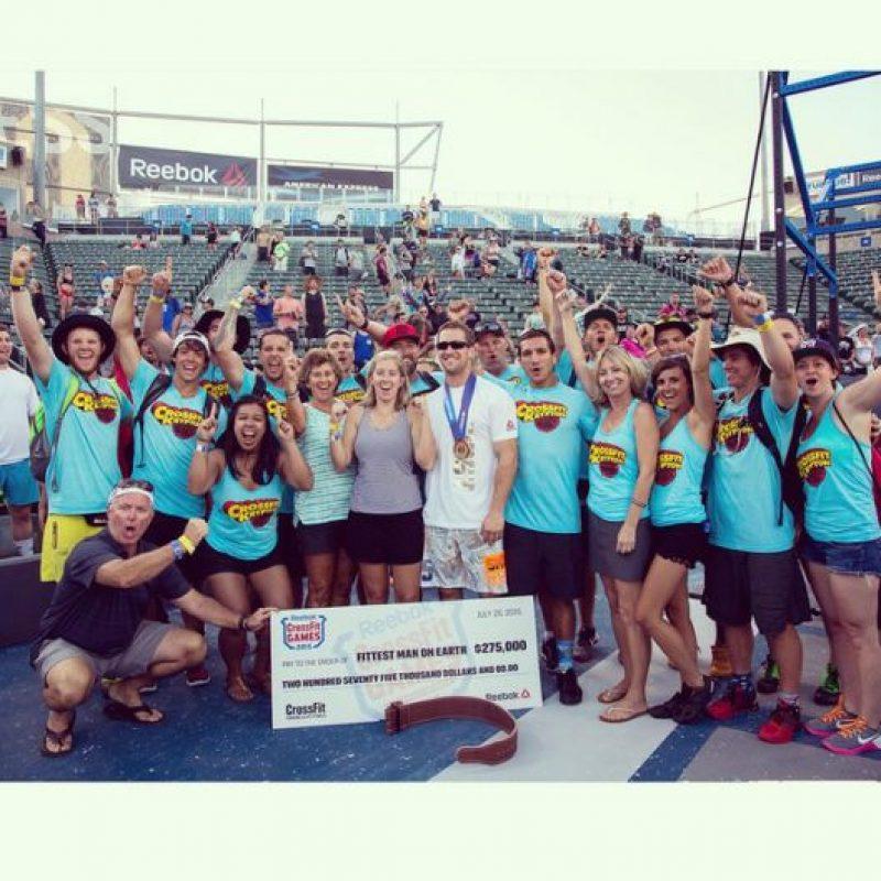 El estadounidense Ben Smith fue el ganador de los CrossFit Games. Foto:Vía instagram.com/bsmit13