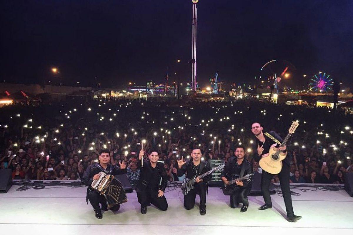 """El grupo """"Enigma Norteño"""" dedicó una canción al hijo de """"El Chapo"""" Foto:Vía Facebook.com/enigmanorteno"""