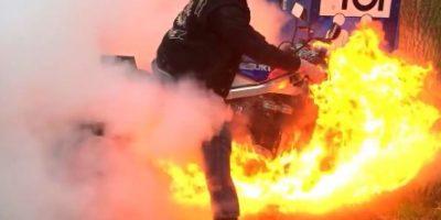Se incendió… Foto:Vía youtube/LM