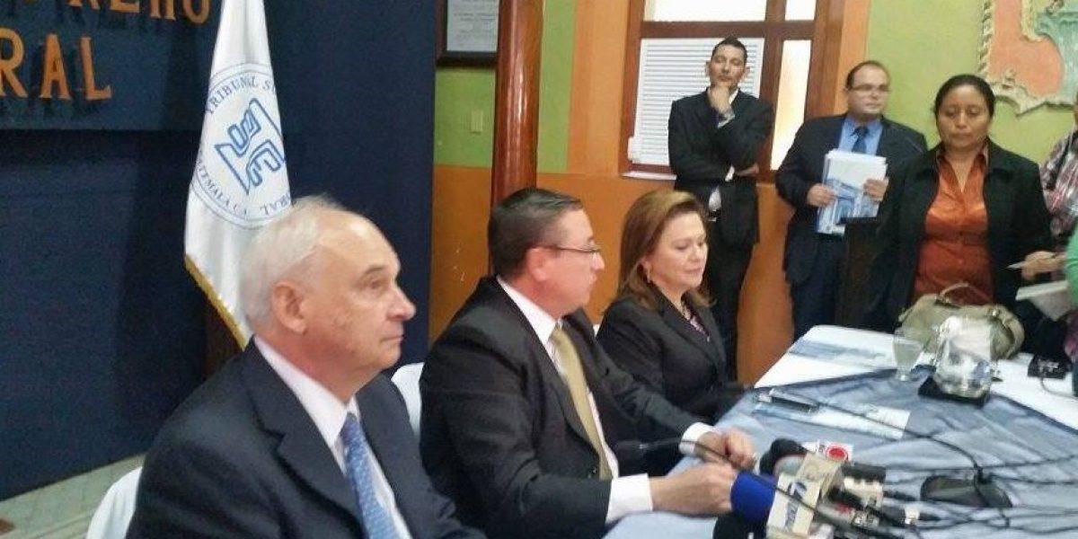 TSE firma convenio con OEA para observación electoral