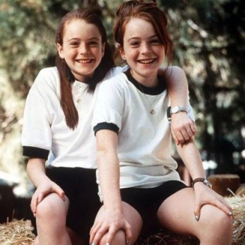 "Interpretó a las gemelas ""Hallie"" y ""Annie Parker"". Foto:IMDB"