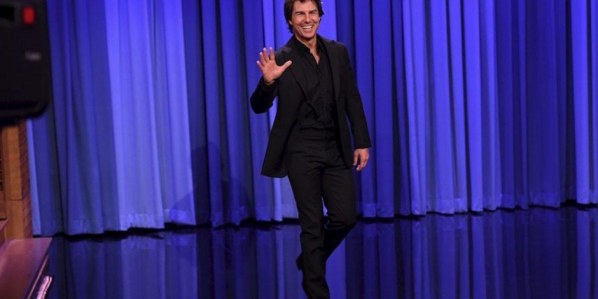 VIDEO: Tom Cruise demostró su talento musical en el show de Jimmy Fallon