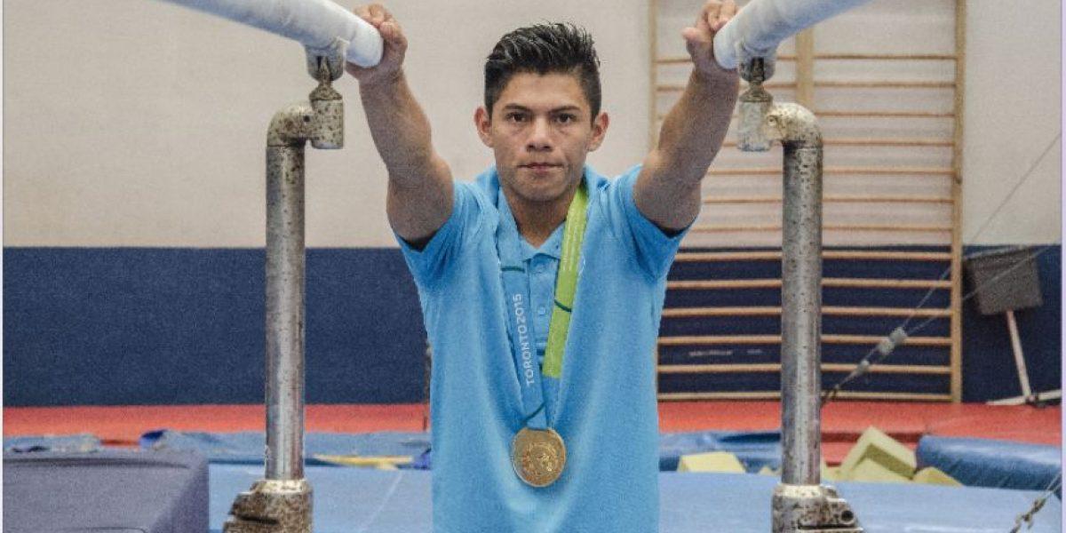 VIDEO. Jorge Vega, un atleta con manos y pies de oro
