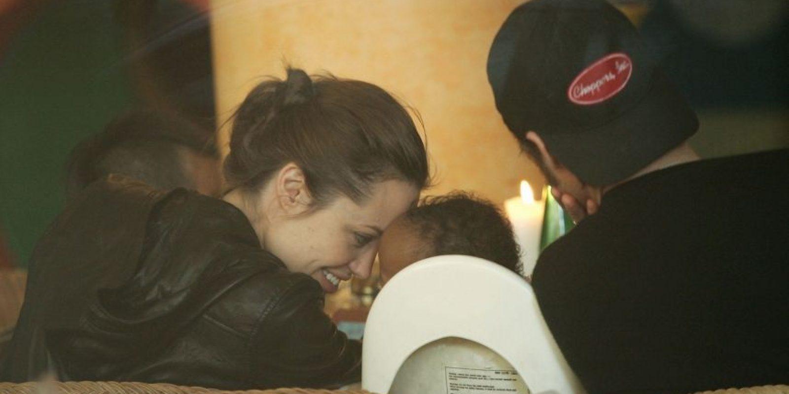 En 2005, Angelina anunció la adopción de Zahara. Foto:Getty Images