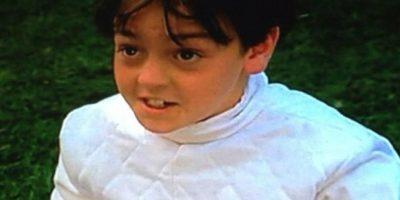 El hermanito de Lindsay Lohan participó como el único niño que llega por accidente al campamento. Foto:vía instagram.com/mikelohan