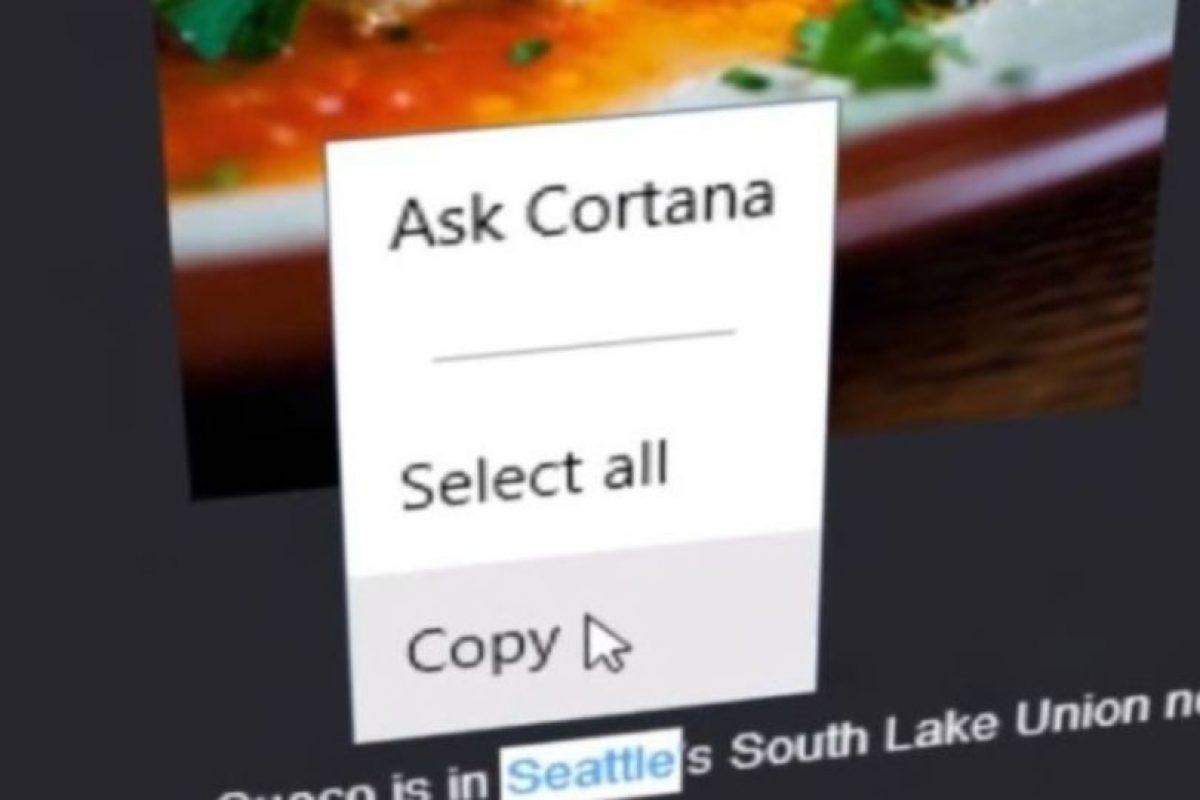 Ya que podrán preguntarle de cualquier cosa en la web. Foto:Microsoft Windows