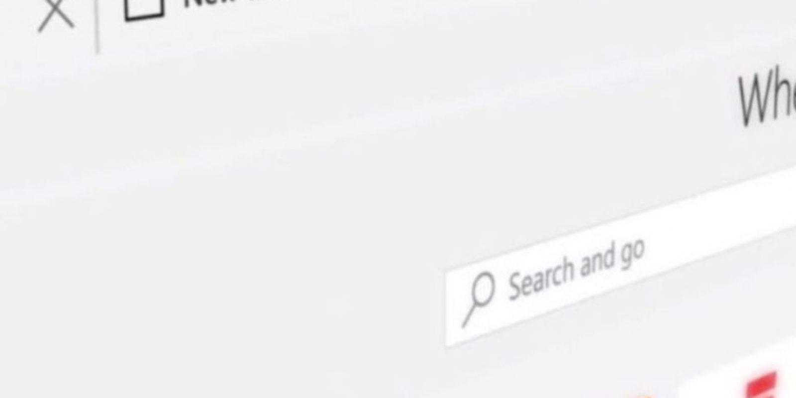 Este es el elegante diseño de Edge. Foto:Microsoft Windows