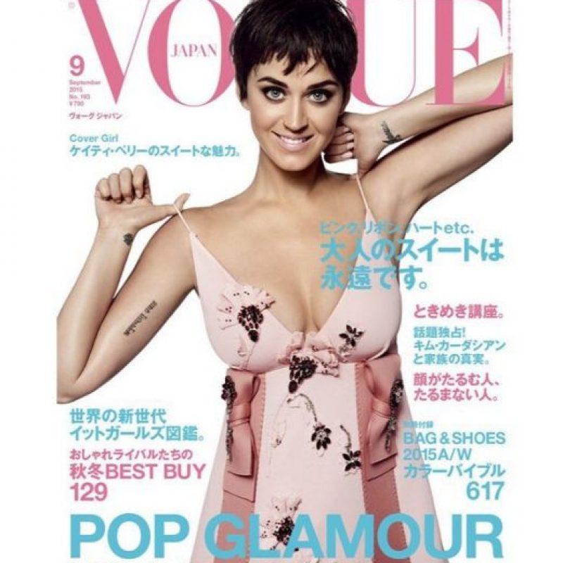 """Katy Perry es protagonista de la edición japonesa de la revista """"Vogue"""" Foto:Instagram/KatyPerry"""