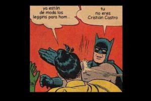 ¿Usar leggings? Cristian Castro lo hace. Foto:vía Twitter