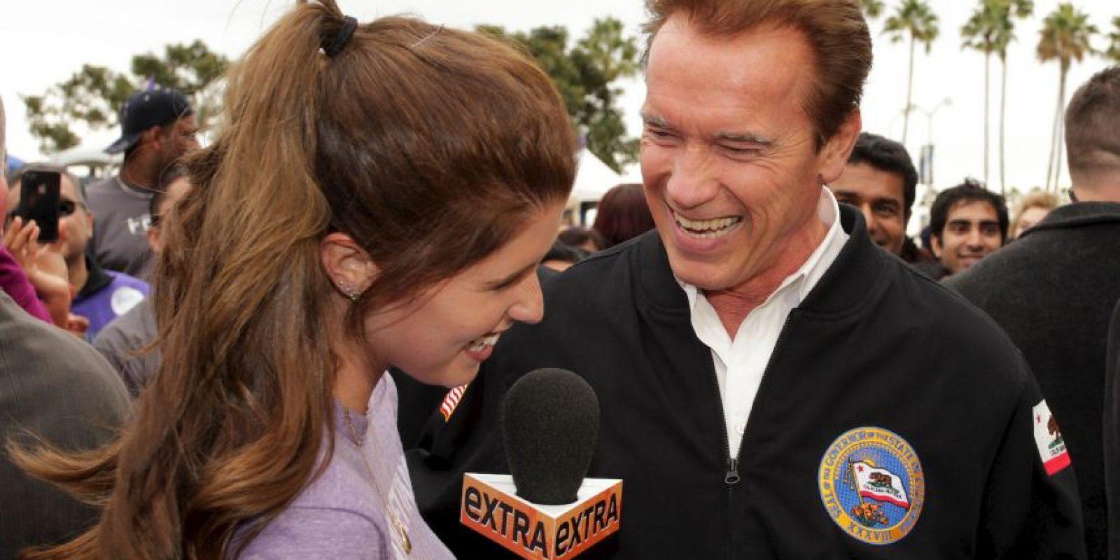 Arnold Schwarzenegger y Maria Shriver decidieron separarse de la noche a la mañana tras 25 años de matrimonio Foto:Getty Images