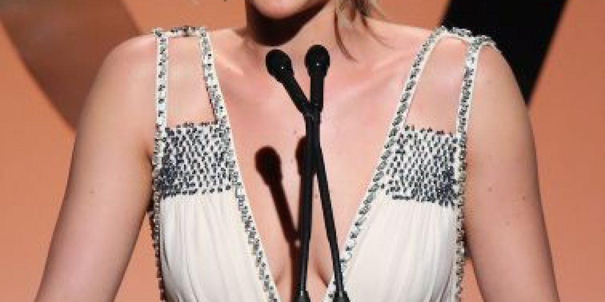 Jennifer Lawrence le manda mensajes a Bill Murray cuando está ebria