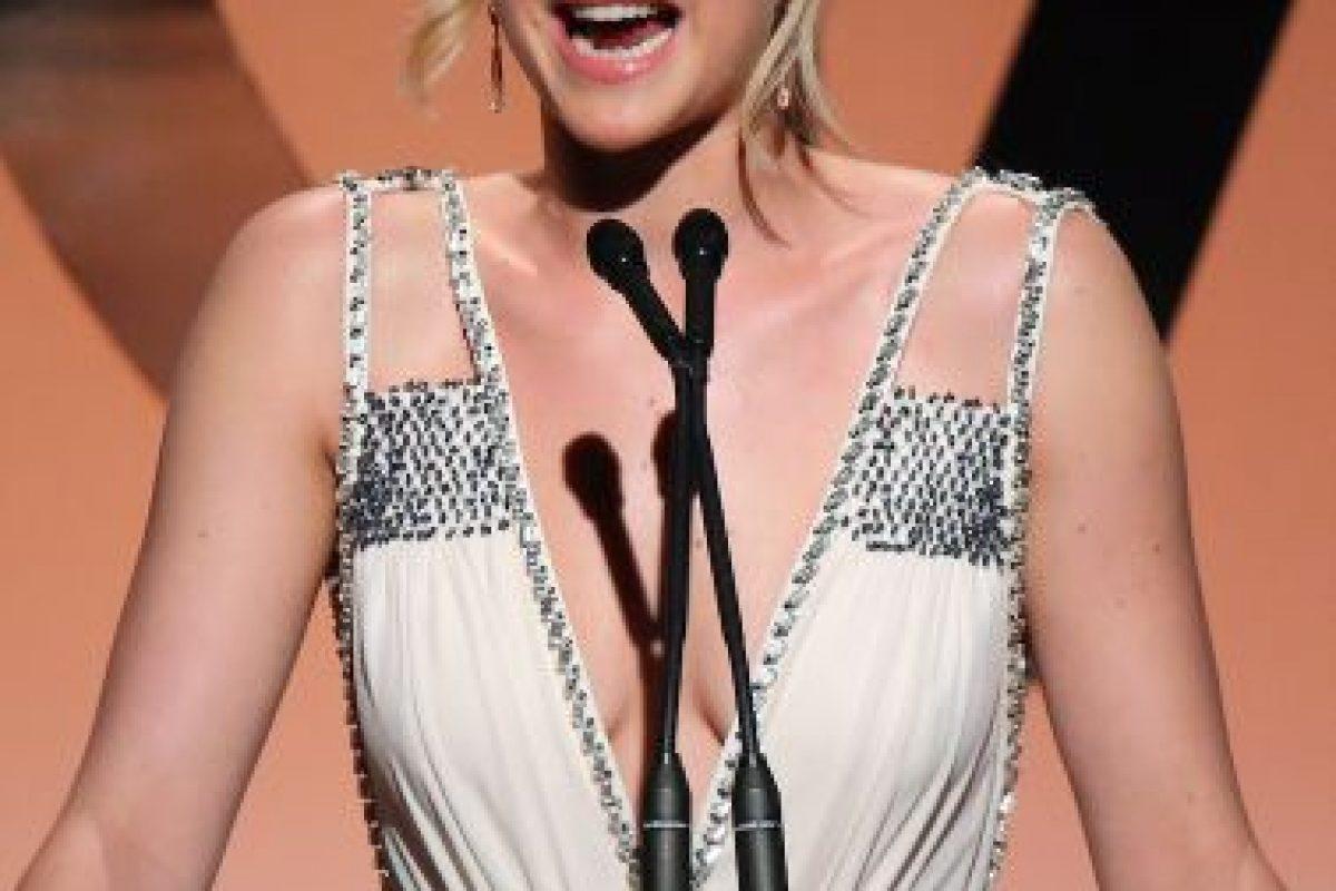 Durante la Comic Con 2015, Jennifer Lawrence confesó su gran admiración hacia al actor Bill Murray. Foto:Getty Images