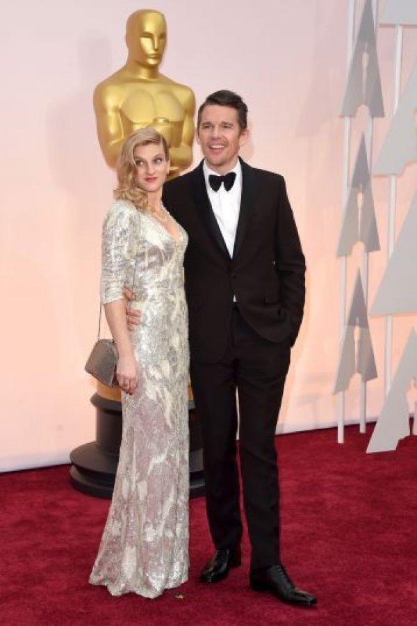 El actor se casó con la niñera en 2008, tienen dos hijos y aún siguen juntos Foto:Getty Images