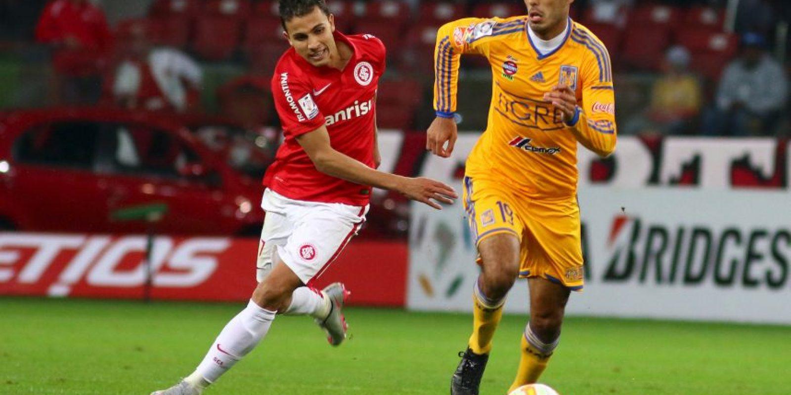 En cuartos de final eliminó al Emelec, y en semifinales al Interacional de Porto Alegre. Foto:Getty Images