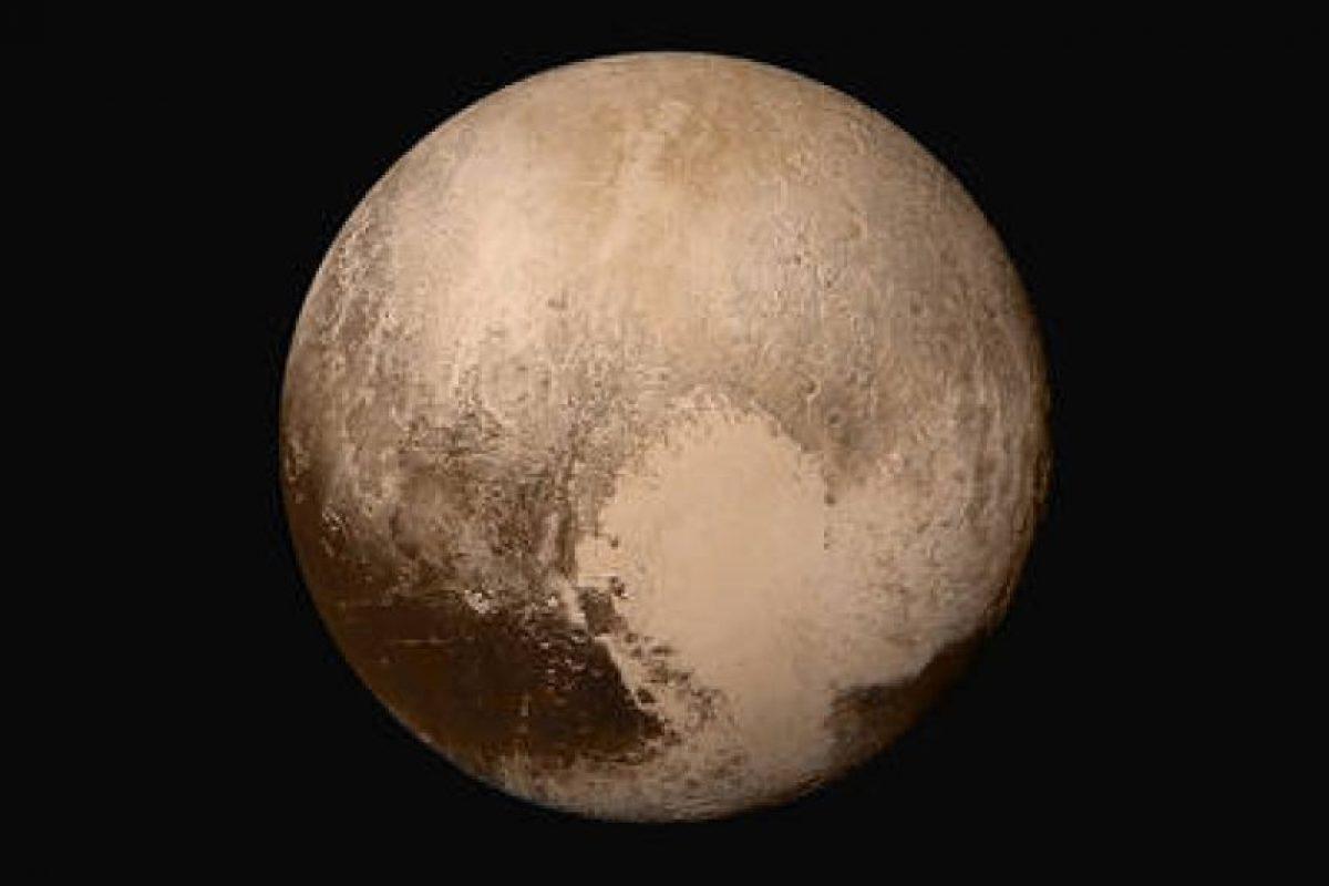 La primera imagen de Plutón, tomada el 14 de julio Foto: NASA.gov