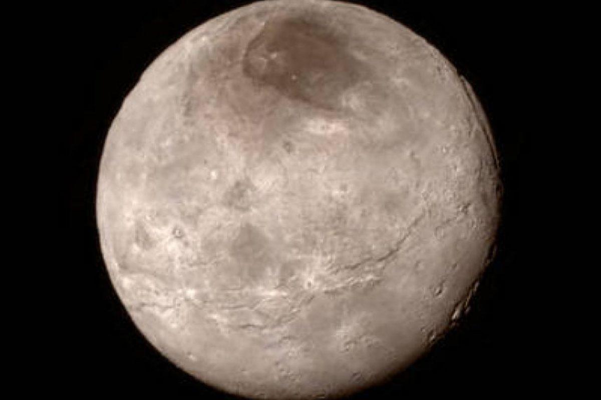 Una vista más detallada de Charon Foto:NASA.gov
