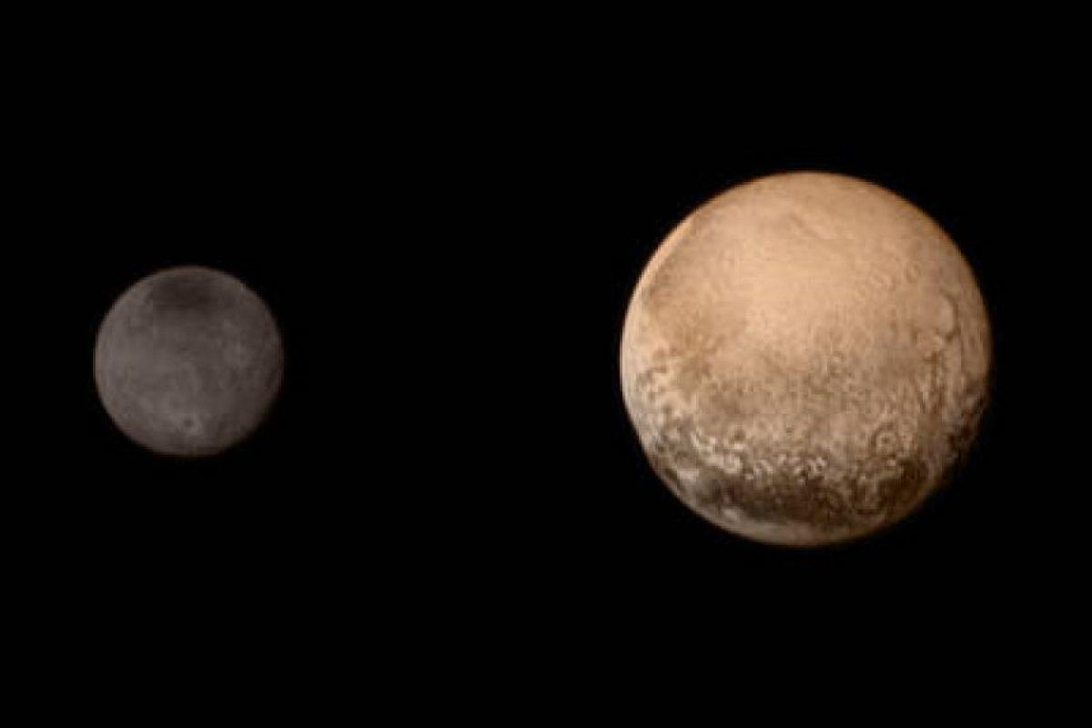 Otra vista de Charon y Plutón Foto:NASA.gov