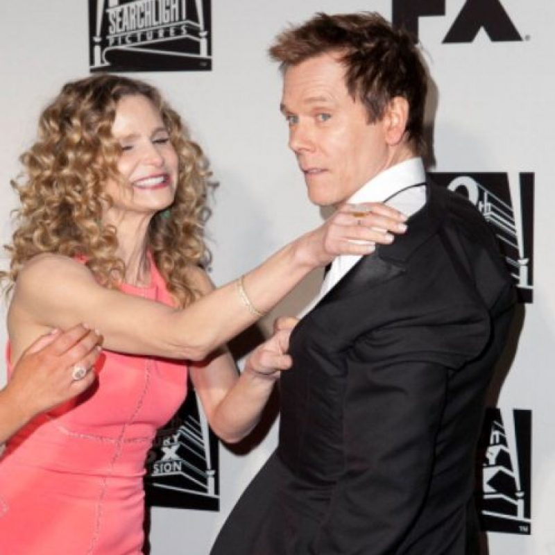 Tienen dos hijos en común. Otra quiere ser actriz como los dos. Foto:vía Getty Images