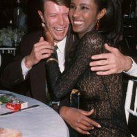 David Bowie está casado con la modelo Iman desde 1992. Foto:vía Getty Images