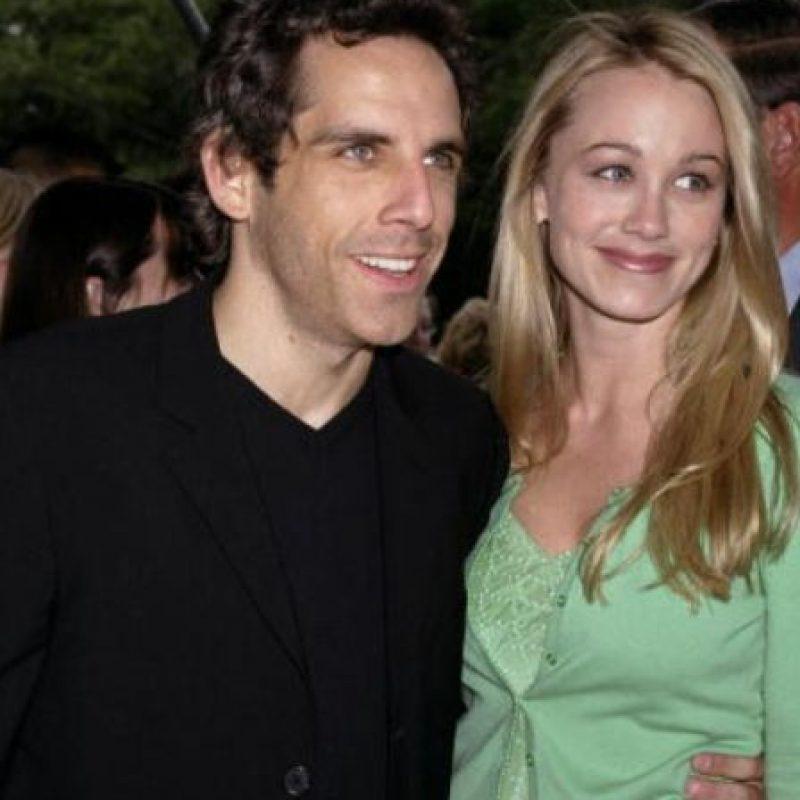 """Ben Stiller conoció a Christine Taylor en """"Zoolander"""" y desde ahí están juntos. Fue en el 2000. Foto:vía Getty Images"""