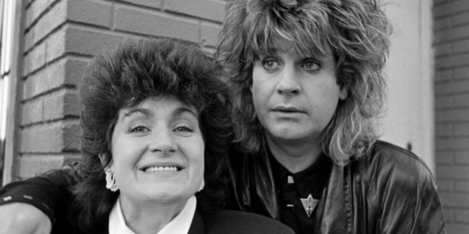 Ozzy Osbourne y Sharon están casados desde 1982. Foto:vía Getty Images