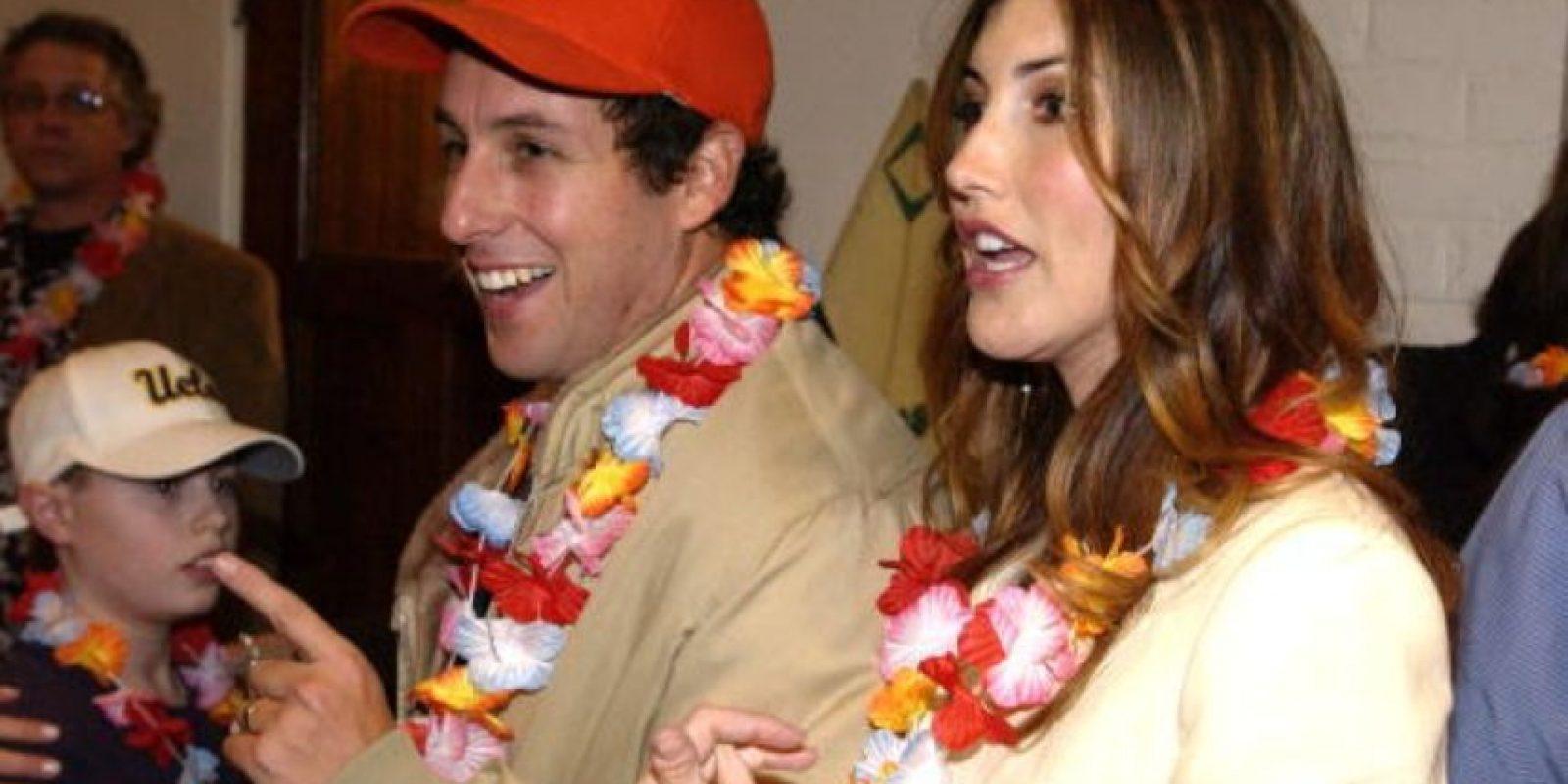 Adam Sandler y su esposa Jackie Titone llevan 12 años casados. Foto:vía Getty Images