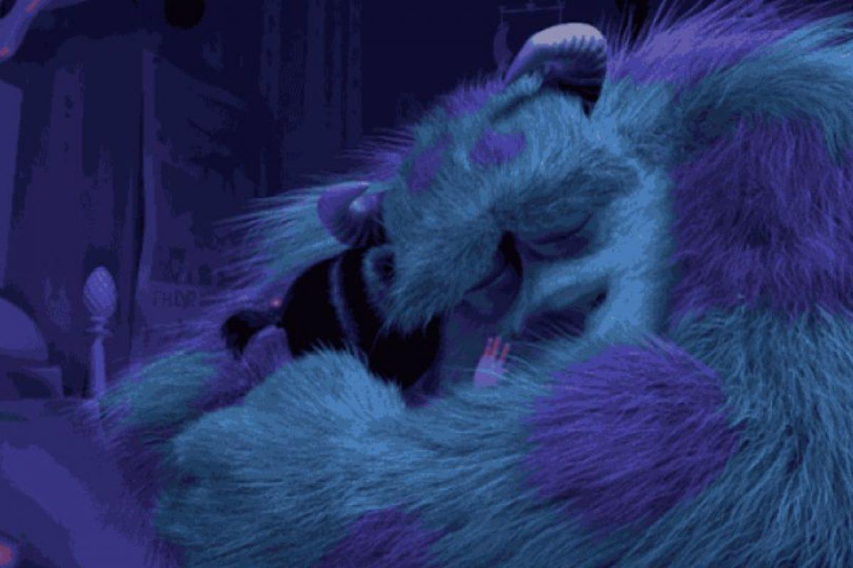 """1. Cuando Sully le dice adiós para siempre a """"Boo"""" en """"Monsters Inc."""" Foto:vía Disney/Pixar"""