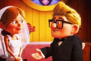 """2. La bella historia de """"Carl"""" y """"Ellie"""" en """"Up"""". Foto:vía Disney/Pixar"""