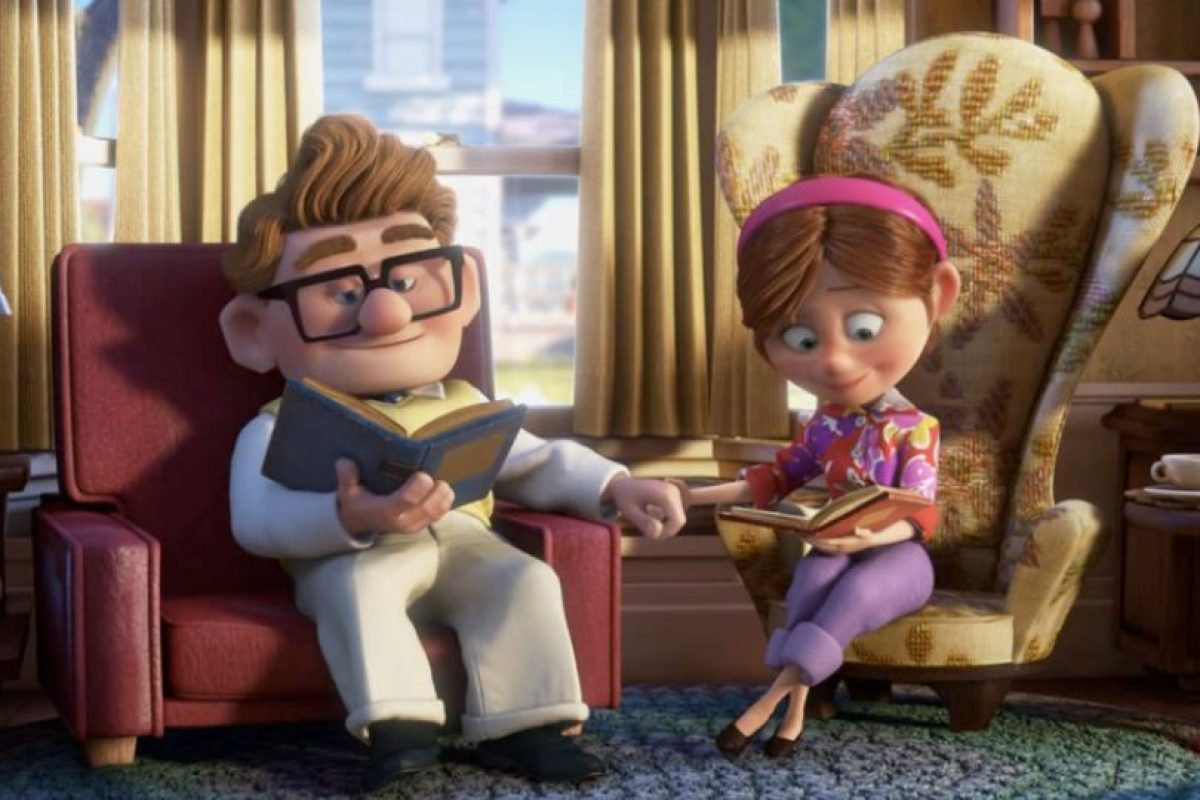 Construyen juntos una casita. Foto:vía Disney/Pixar