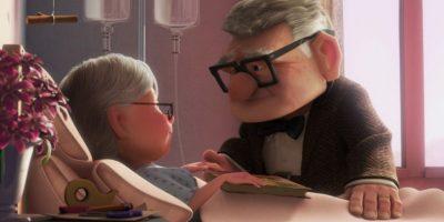 Hasta que ella enferma. Muere. Foto:vía Disney/Pixar