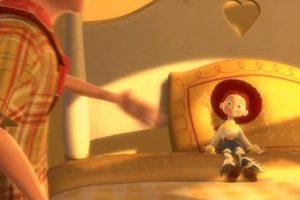 """4. Cuando """"Emily"""" deja a """"Jessie"""". Foto:vía Disney/Pixar"""