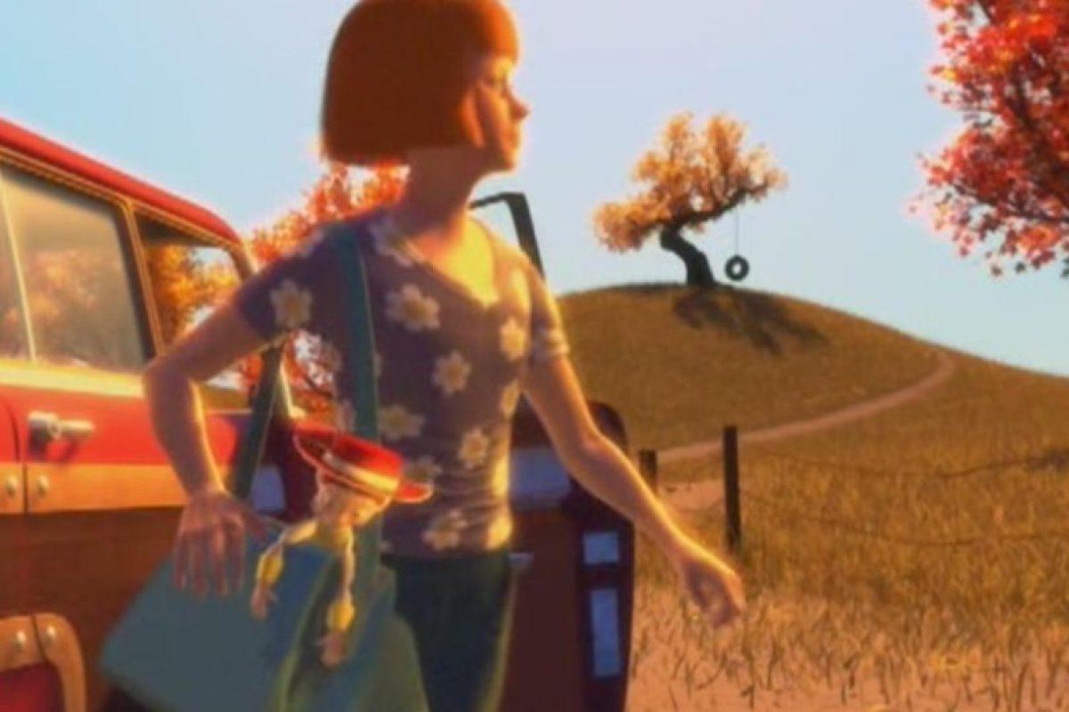 Y la dejó en un cruel abandono. Foto:vía Disney/Pixar