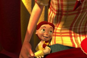 """En una hermosa canción, de """"Toy Story 2"""", """"Jessie"""" cuenta cuánto amaba a su dueña. Pero esta creció. Foto:vía Disney/Pixar"""