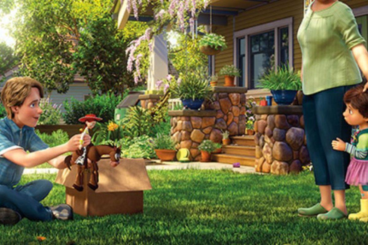 """6. Cuando """"Andy"""" dona sus juguetes. Foto:vía Disney/Pixar"""