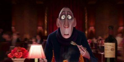 """7. Cuando """"Ego"""" come el plato de """"Remy"""" en """"Ratatouille"""" y queda sorprendido. Foto:vía Disney/Pixar"""