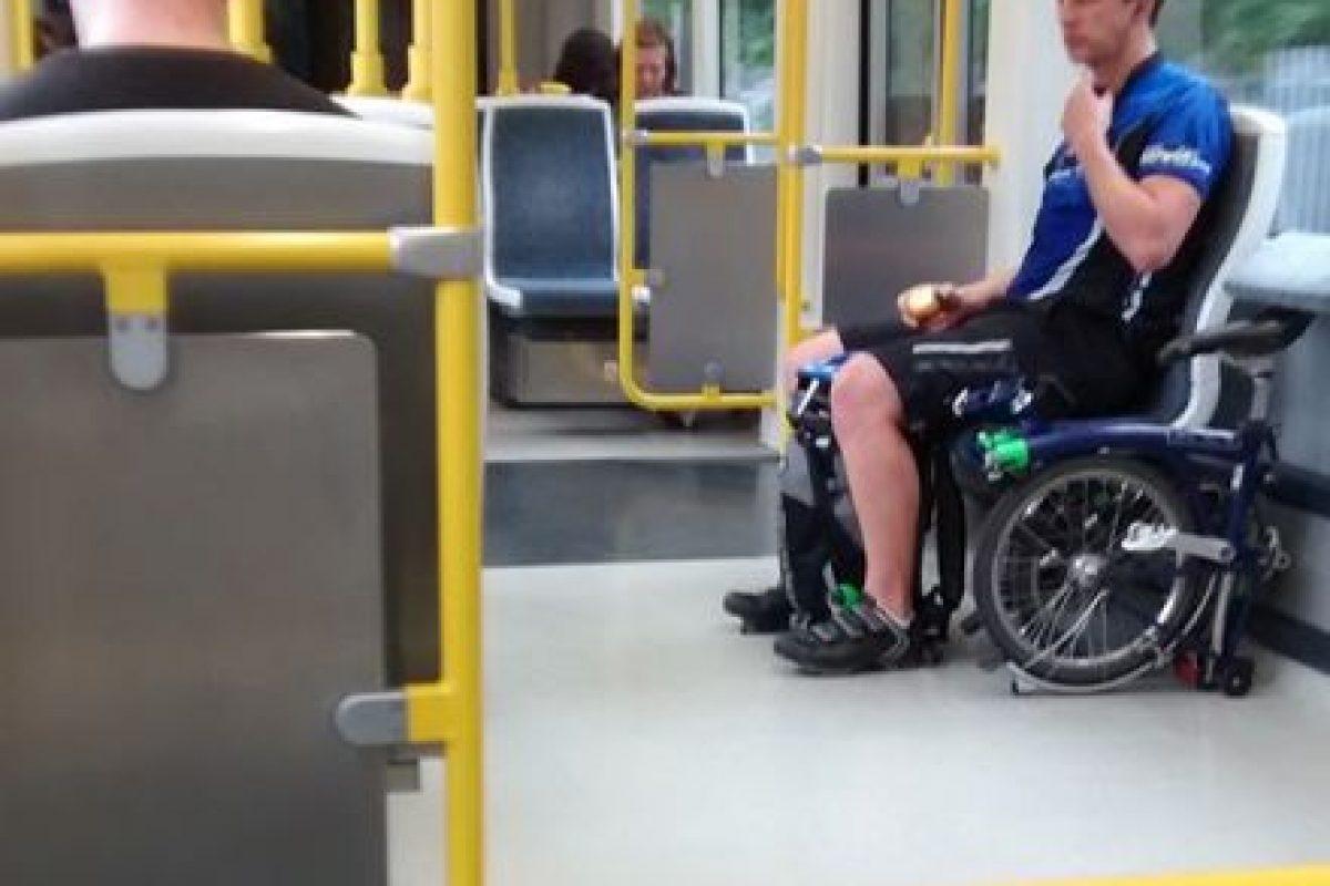 No, no es una silla de ruedas Foto:Reddit