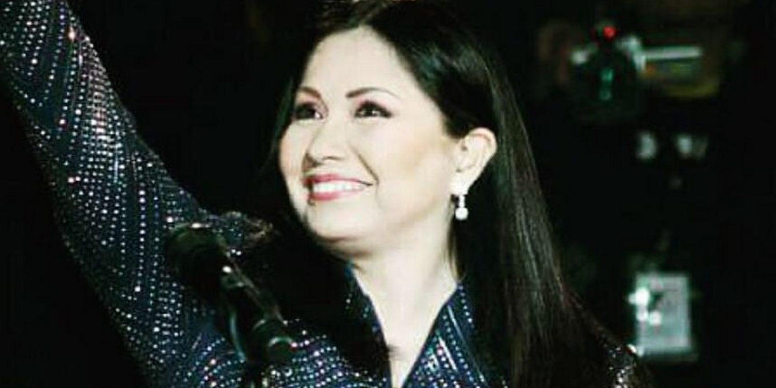 Tiene 59 años. Así se ve ahora la cantante mexicana. Foto:Vía instagram.com/anagabrieloficial/