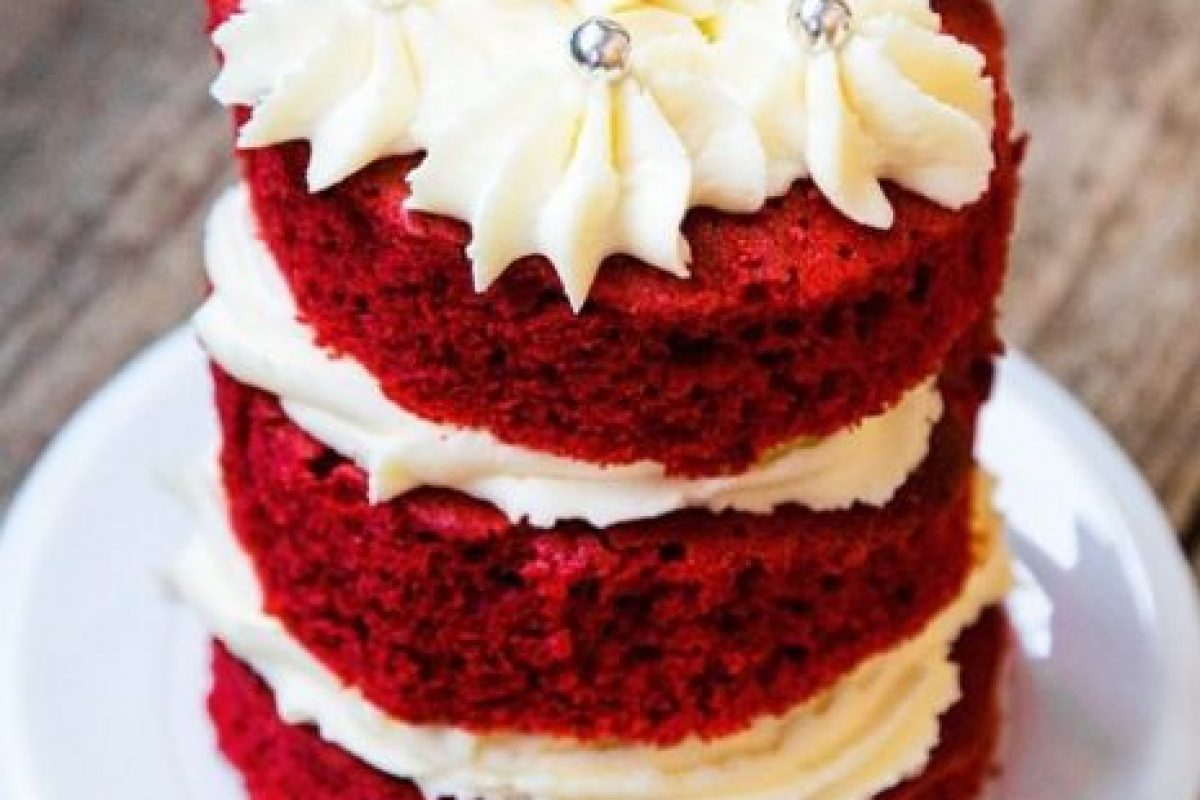 Red velvet Foto: Vía Instagram/@CakeLovers