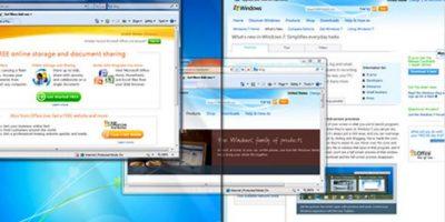 Después la empresa nos sorprendería con Windows 7. Con este sistema, Microsoft terminaría una etapa Foto:Microsoft