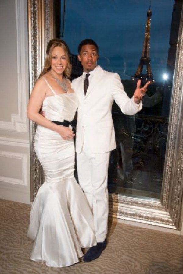 Mariah Carey y sus eternos vestidos de boda baratos. Foto: vía Getty Images