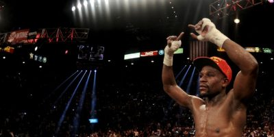19. Floyd Mayweather / Boxeo Foto: Getty Images