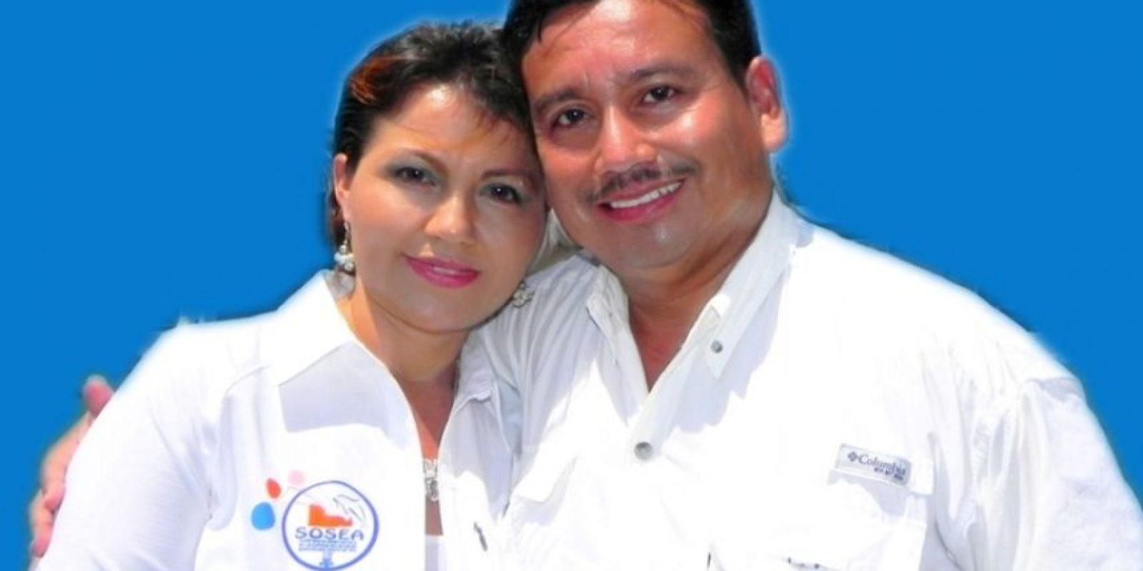 Odilia González García y su esposo Jorge Alberto Rizzo. Foto:jorgerizzo.com