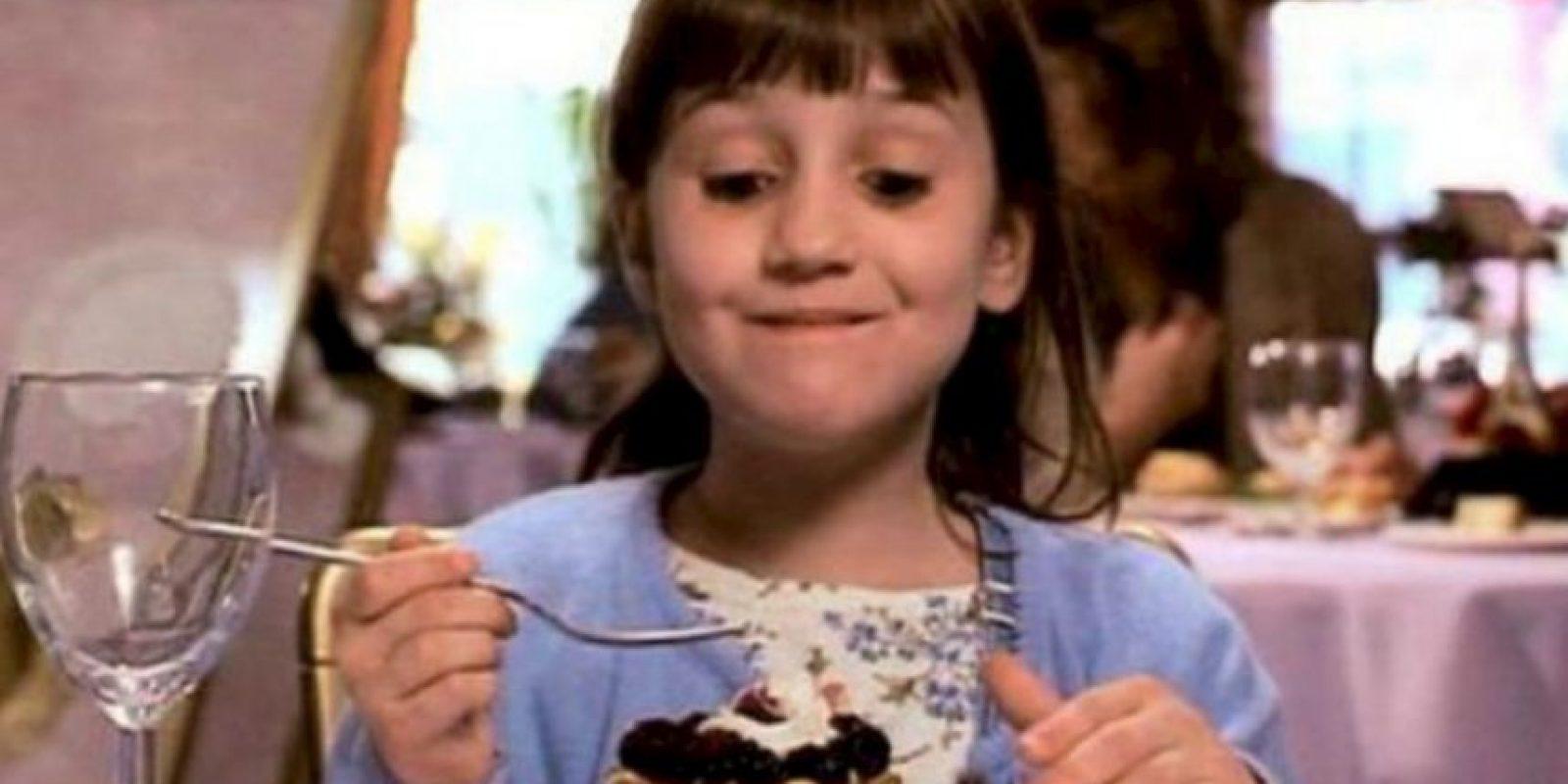"""En 1996, le dio vida a la mítica """"Matilda"""". Foto:vía twitter.com/marawritesstuff"""